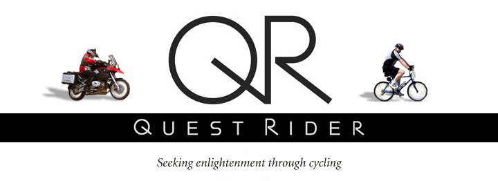 Quest Rider: Seeking Enlightenment Through Cycling